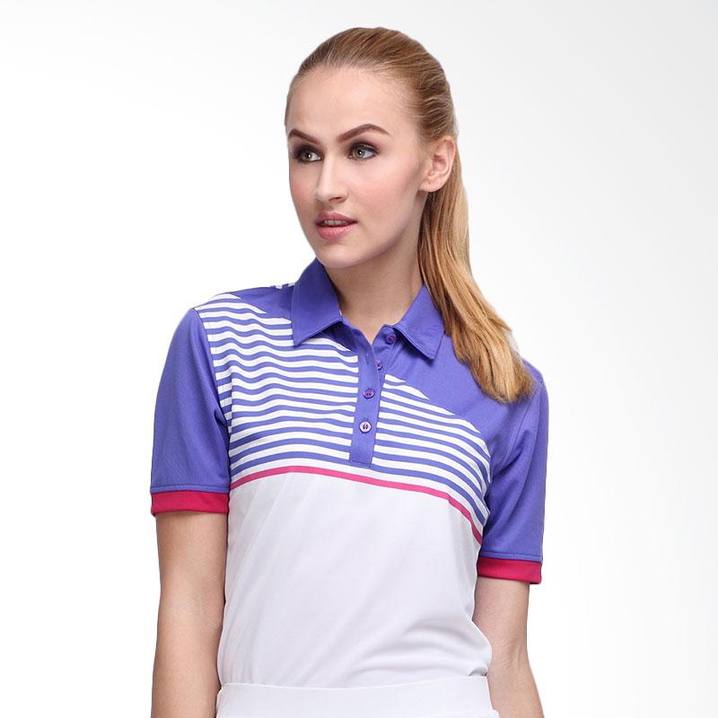 Svingolf Forged Polo Baju Golf - Violet Dusk Pink