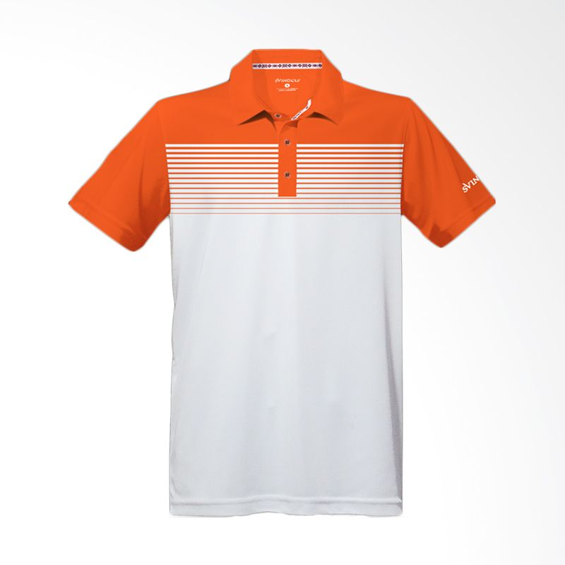 Svingolf Highway Polo Bliss Orange Baju Golf