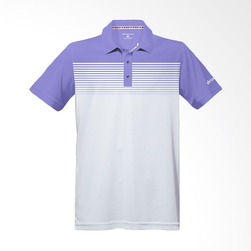 Svingolf Highway Polo Lavender Baju Golf