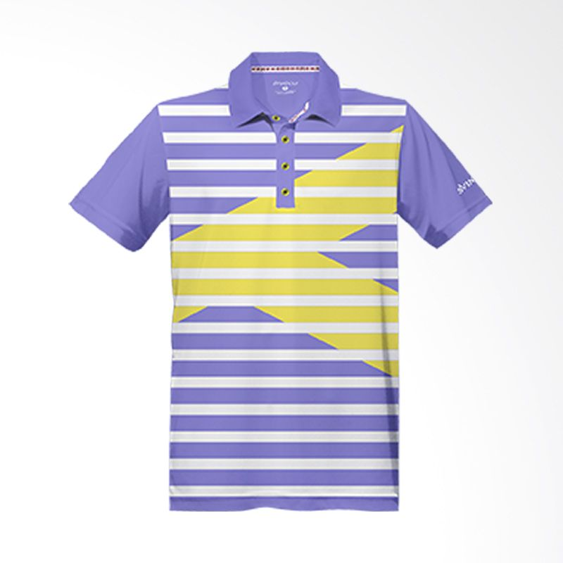 Svingolf Royale Lavender Polo Shirt Baju Golf