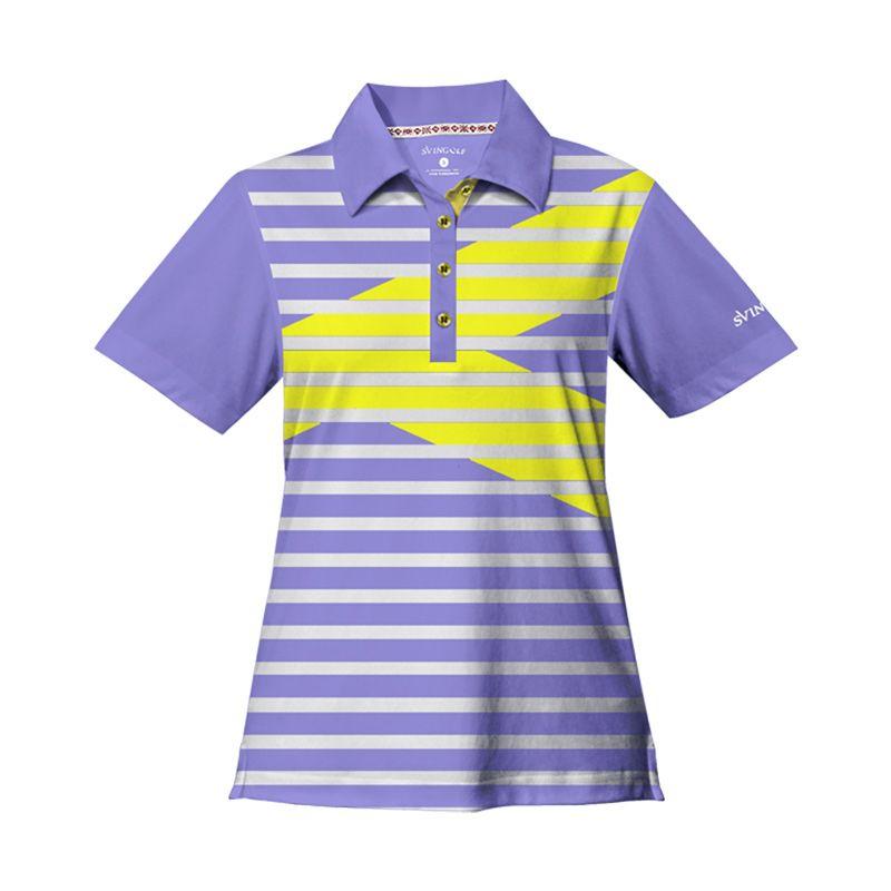 Svingolf Royale Polo Lavender Baju Golf Wanita