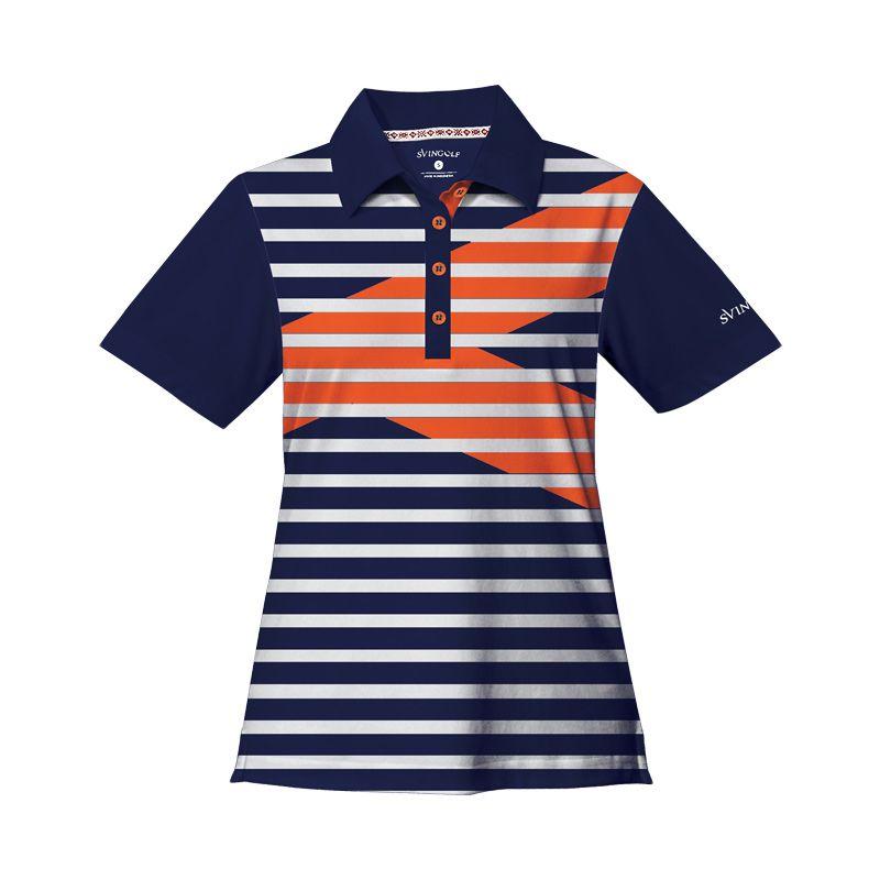 Svingolf Royale Polo Night Blue Baju Golf Wanita