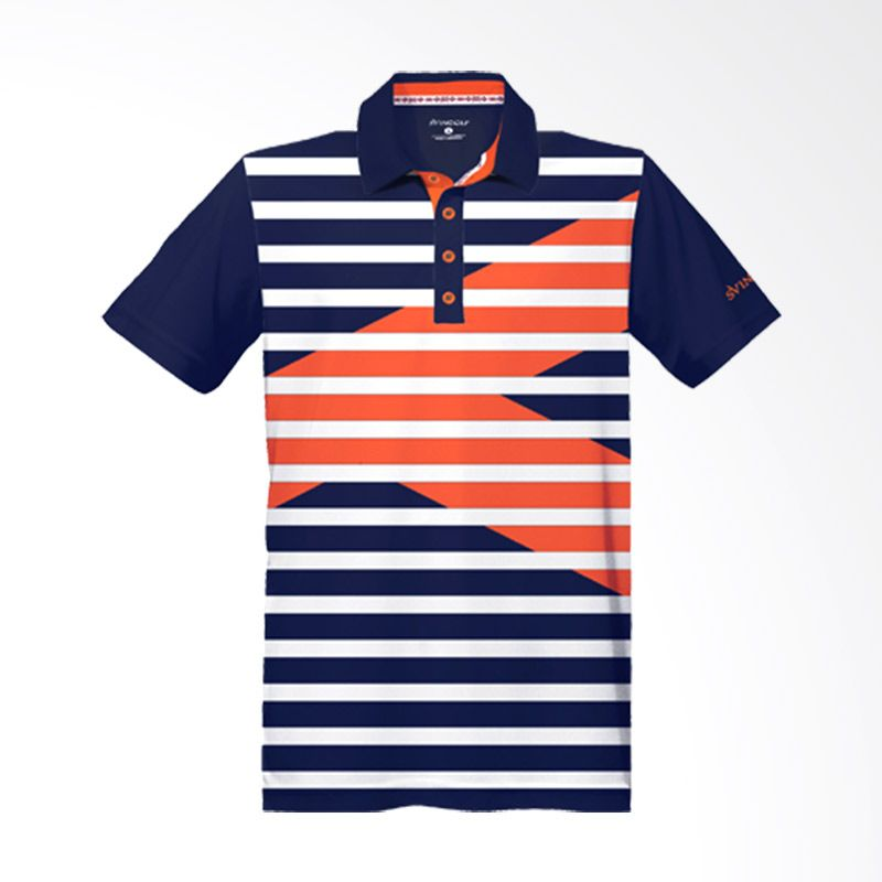 Svingolf Royale Polo Night Blue Baju Golf