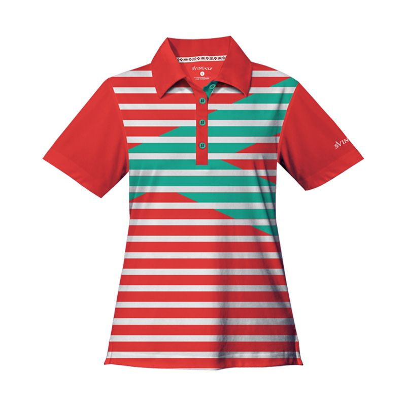 Svingolf Royale Polo Red Baju Golf Wanita