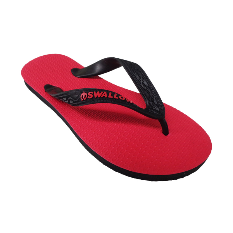 Swallow 108 D Red Sandal Jepit