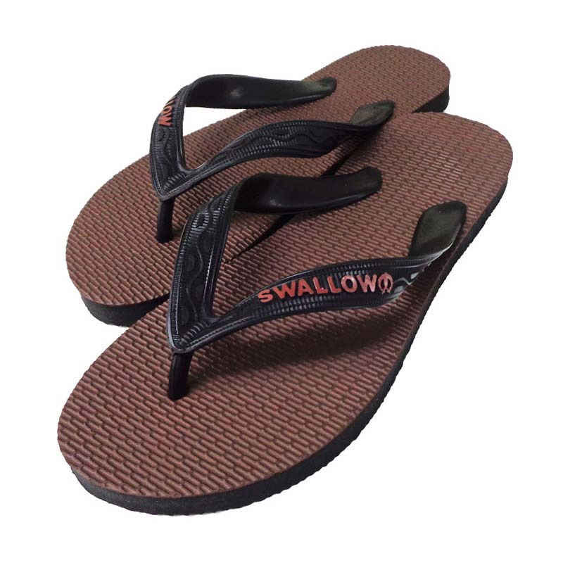 Swallow 109 D Brown Sandal Jepit