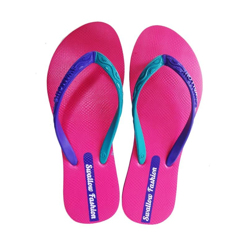 Swallow FASHION FEMALE Pink Sandal Jepit