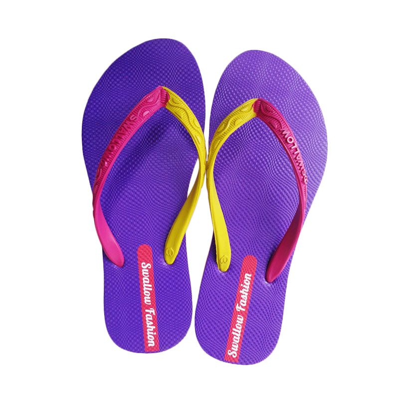 Swallow FASHION FEMALE Purple Sandal Jepit