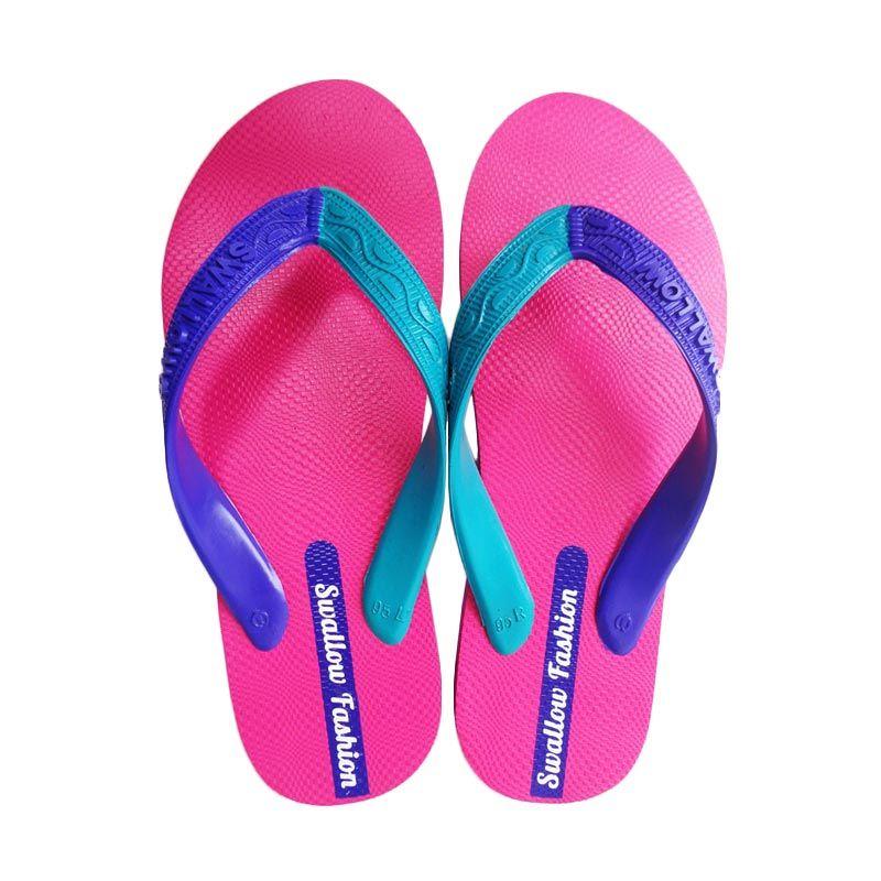 Swallow FASHION MALE FUXIA Pink Sandal Jepit