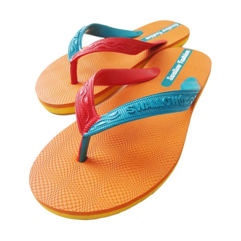 Swallow Fashion Male Sandal - Orange