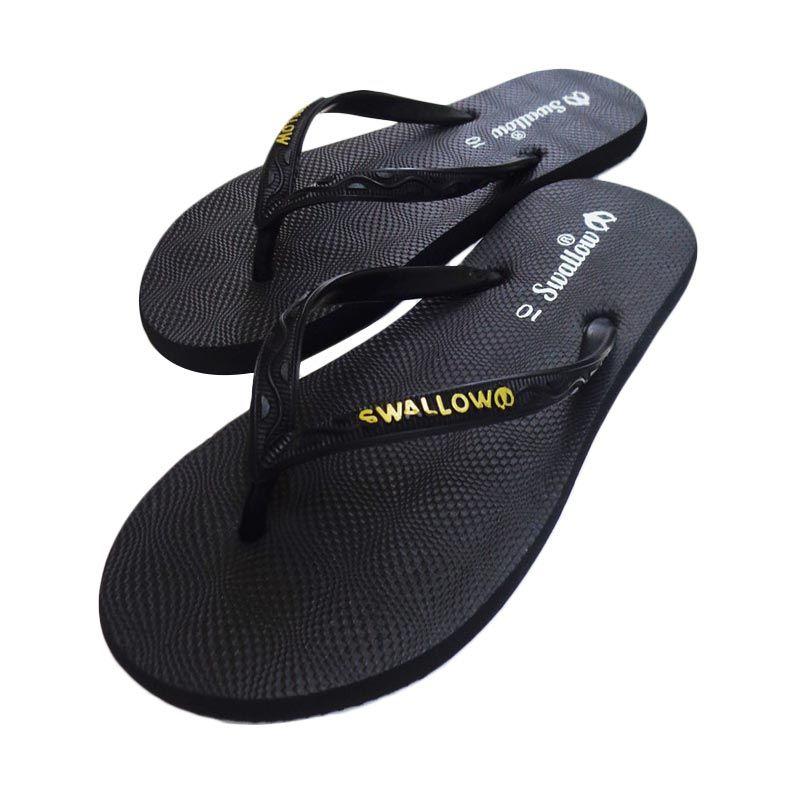 Swallow NICE GERINDA Black Sandal Jepit
