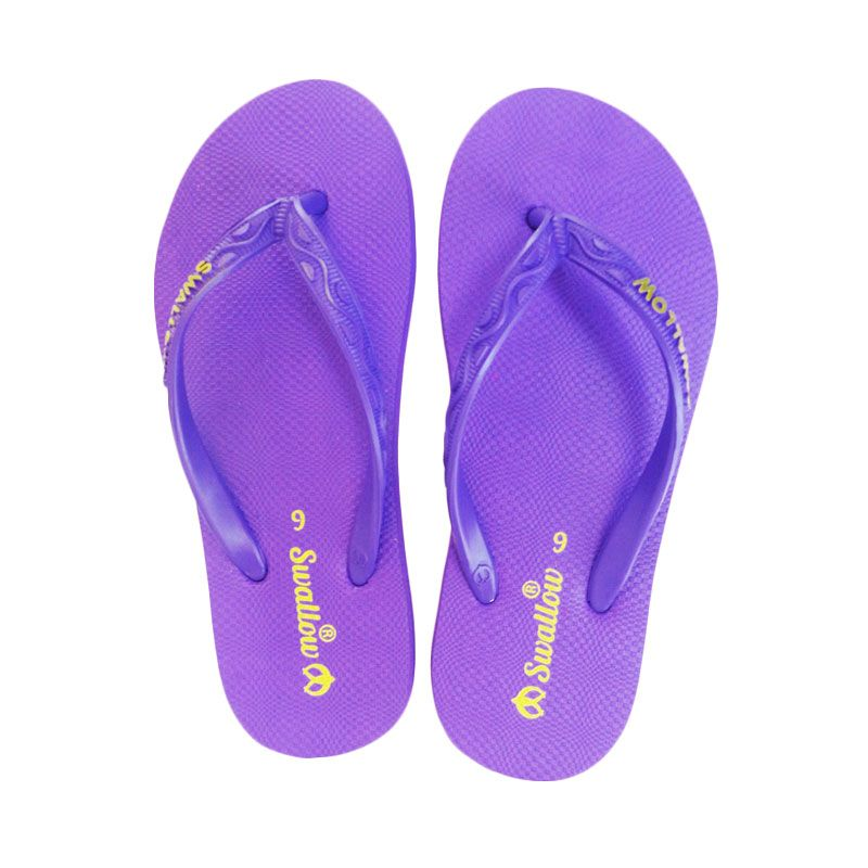 Swallow NICE GERINDA Purple Sandal Jepit