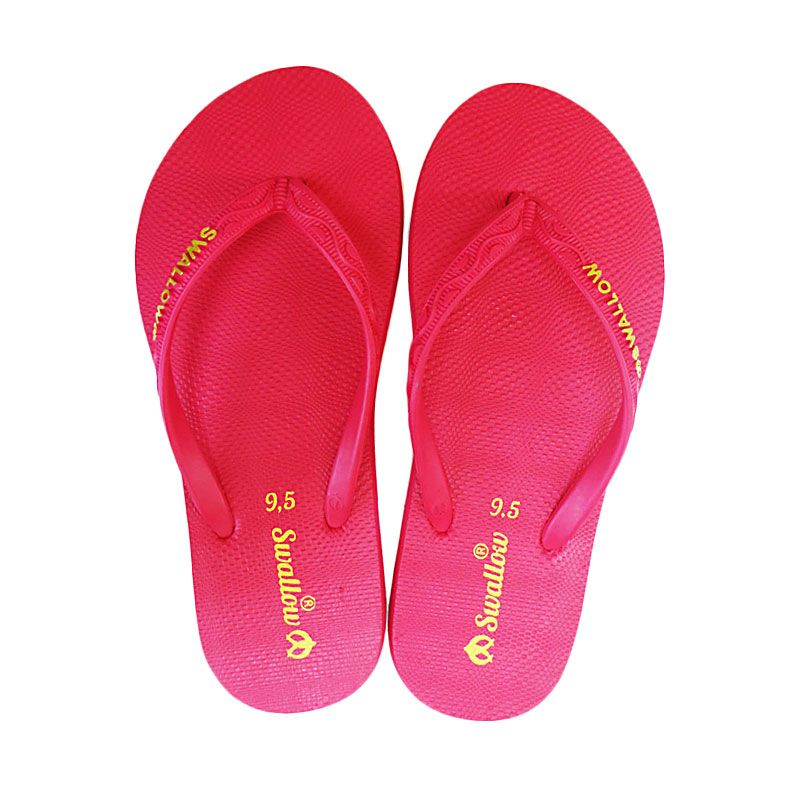 Swallow NICE GERINDA Red Sandal Jepit