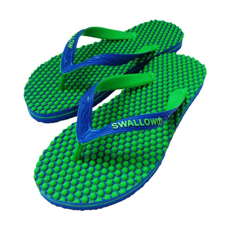Swallow Slipper New 07 SR Sandal Jepit - Blue