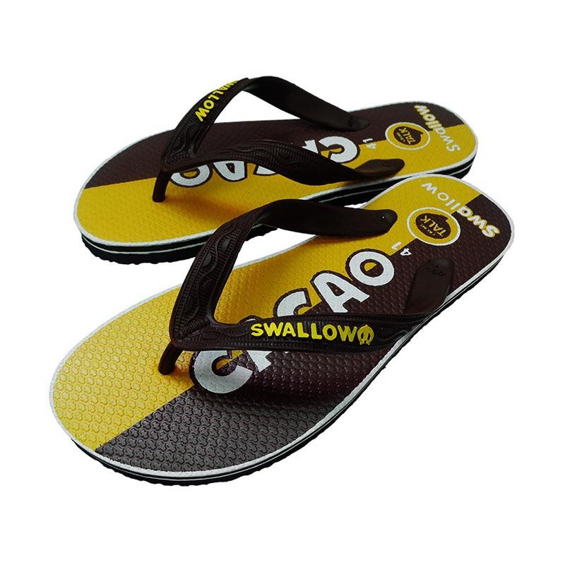 Swallow Slipper Sosmed Cacao Sandal Jepit