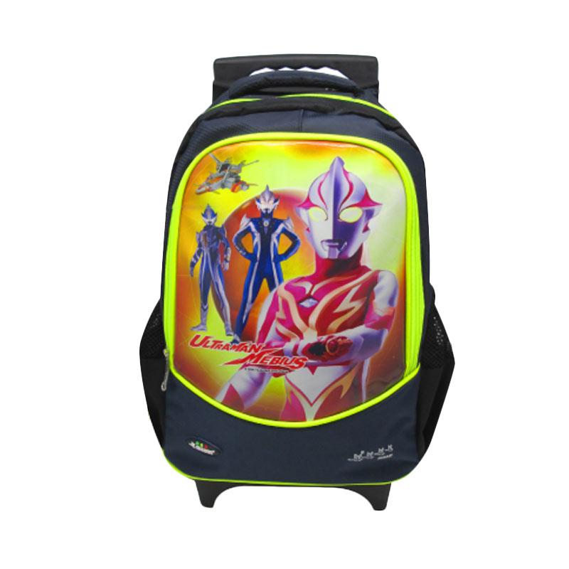 Swan Ultraman Trolley Backpack Tas Sekolah Anak