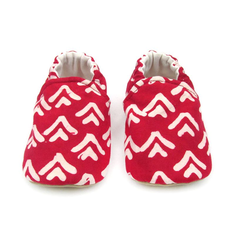 Sweet Batik Astro Red Arrow Shoes Sepatu Bayi