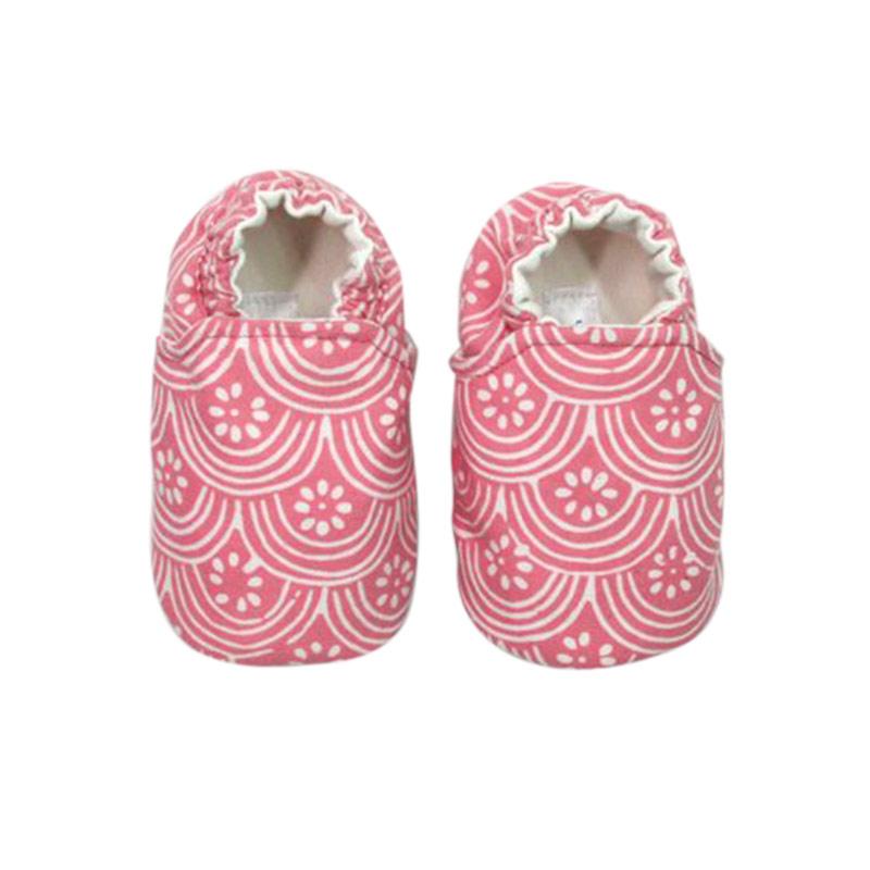 Sweet Batik Astro Shoes Ksf7-24 Sepatu Bayi - Peach