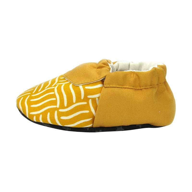 Sweet Batik Baby Shoes Juno Yellow
