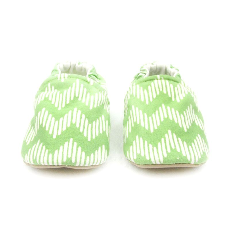 Sweet Batik Chevron Green Sepatu Bayi