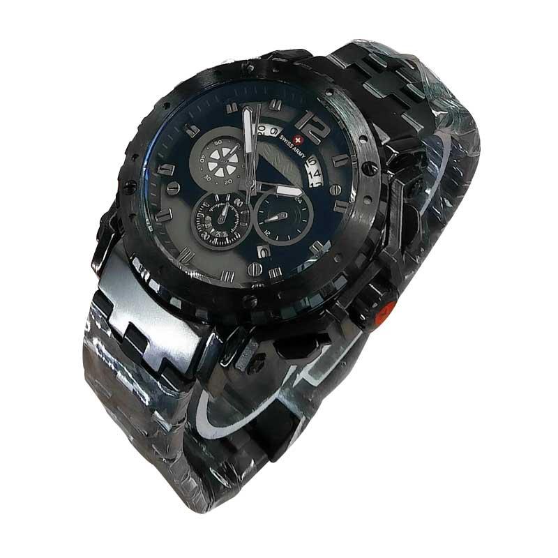 Swiss Army Chrono SA X-00231 Jam Tangan Pria - Black