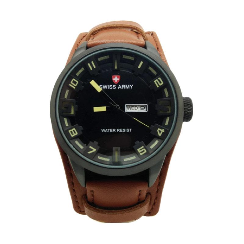 Swiss Army SA 4119 Jam Tangan Pria - Coklat