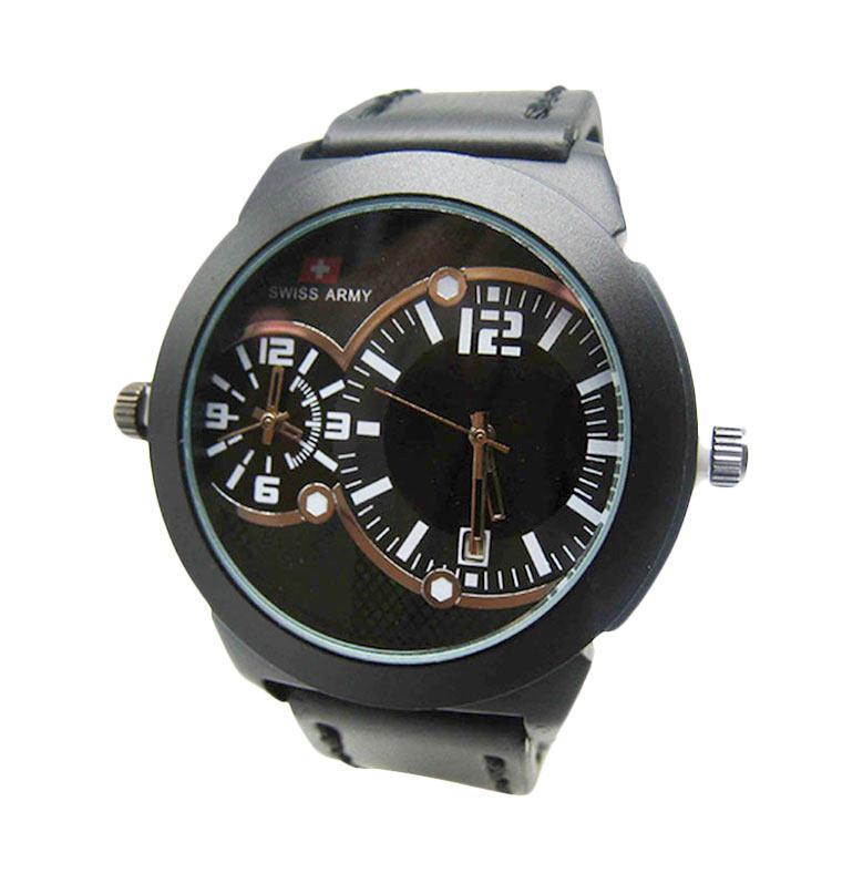 Jual Swiss Army SA6543AD Dual Time Jam Tangan Pria