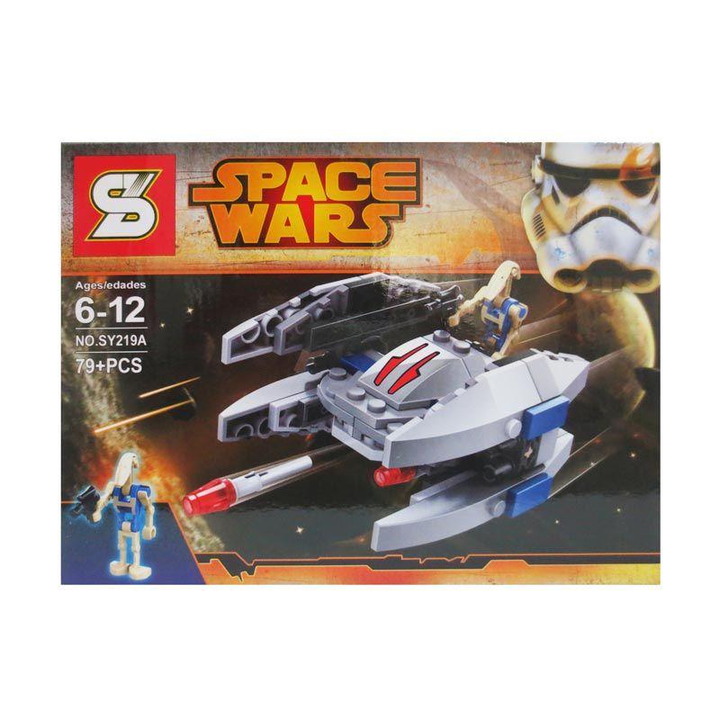 Sy Space Wars 219 A Mainan Blok dan Puzzle