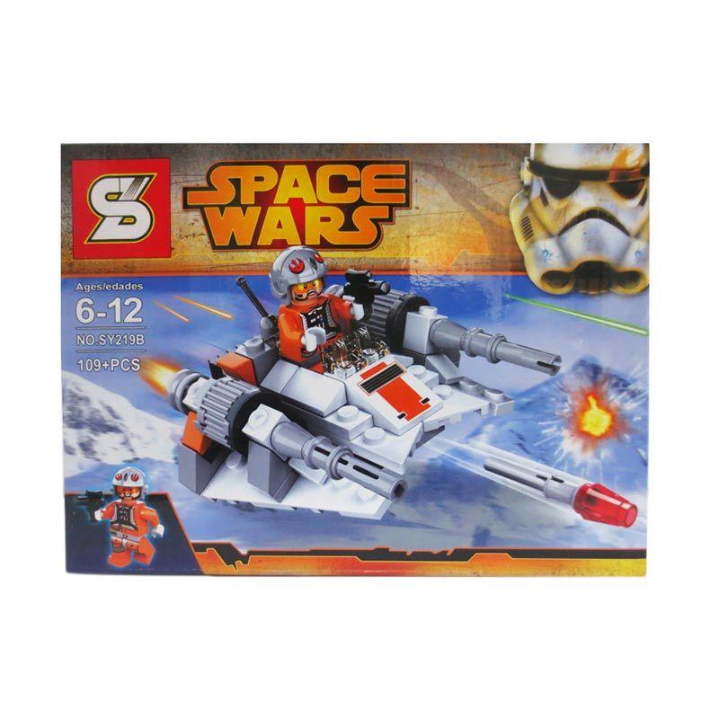Sy Space Wars 219 B Mainan Blok dan Puzzle