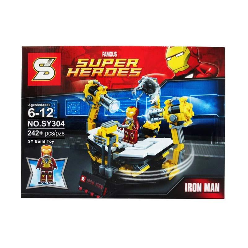 Sy 304 Iron Man Mainan Blok & Puzzle
