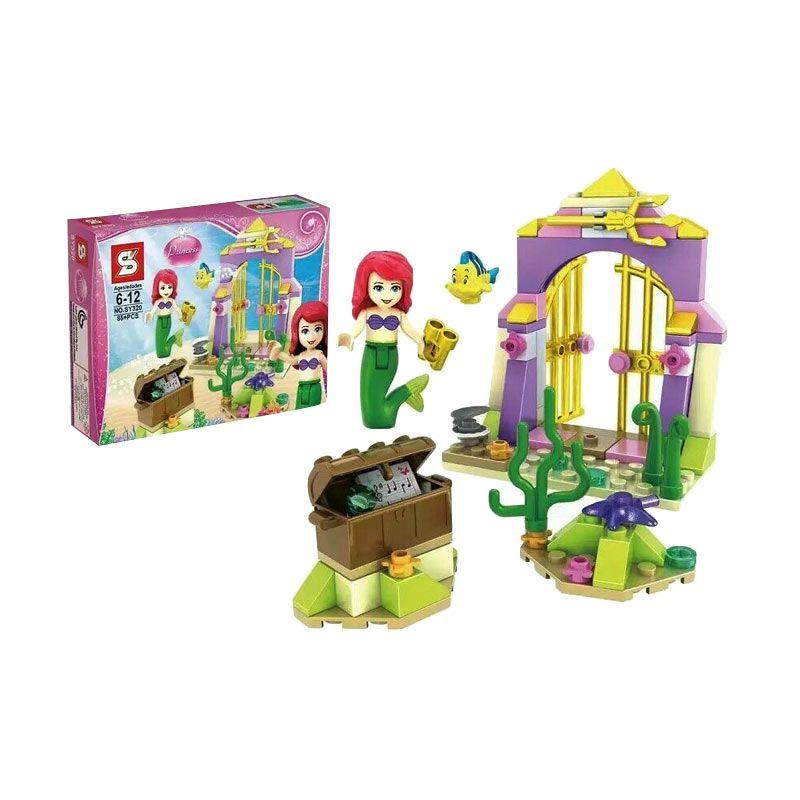 SY  320 Mainan Blok dan Puzzle