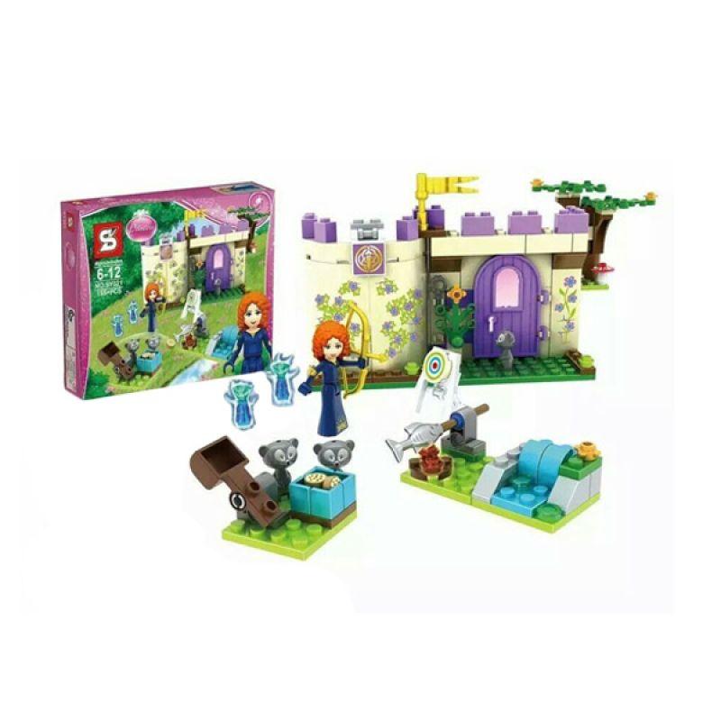 SY 321 Mainan Blok dan Puzzle