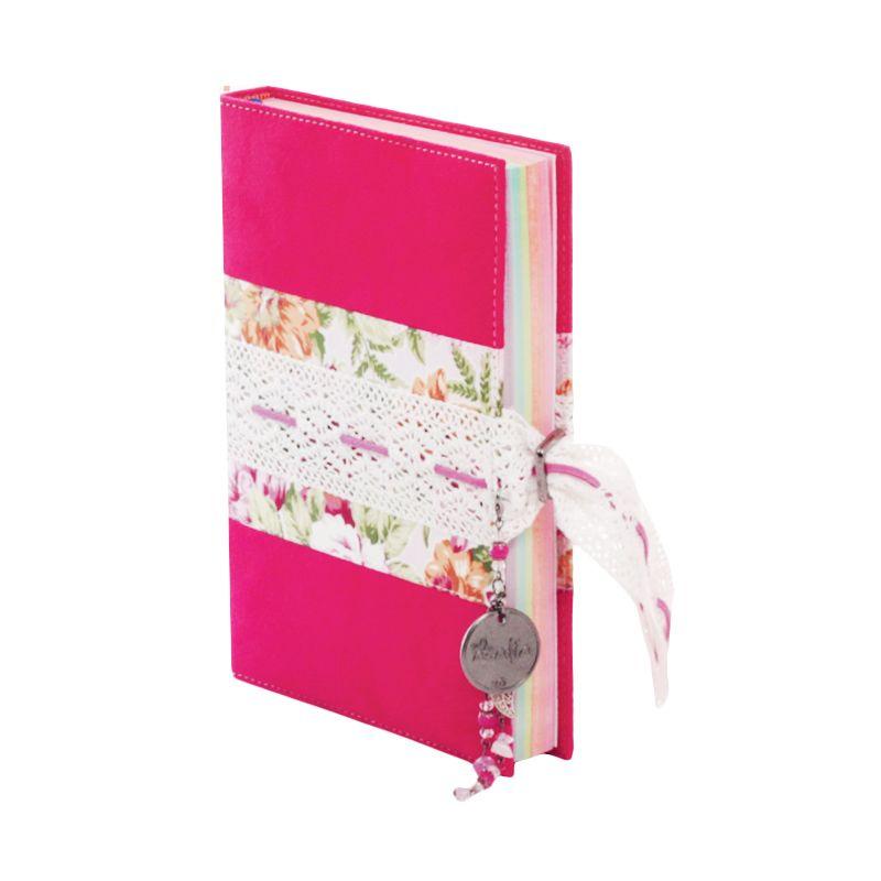 Syaamil Azalia A5 Hishna Suede Pink Al-Quran