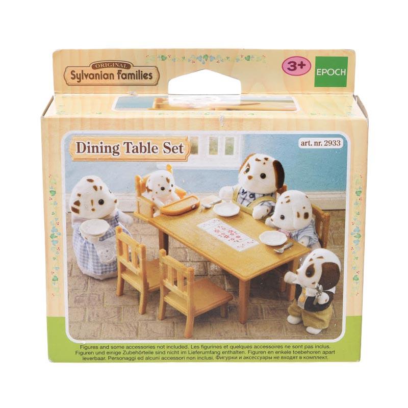 Sylvanian Families 2933 Dining Table Set Mainan Anak