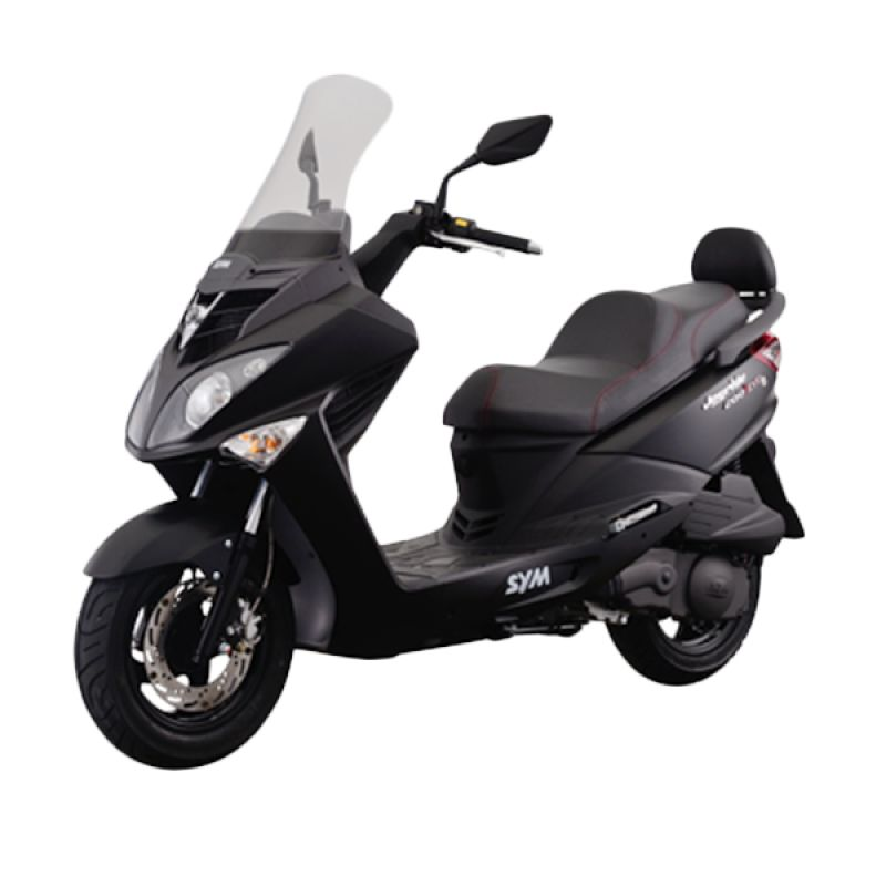 SYM Joyride 200i Evo Mat Black Sepeda Motor [DP 21.000.000]