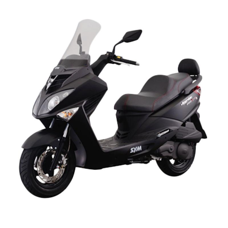 SYM Joyride 200i Evo Mat Black Sepeda Motor [DP 23.000.000]
