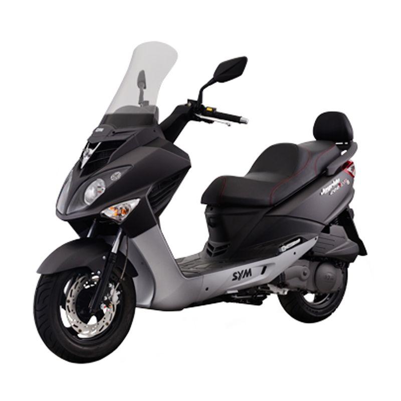 SYM Joyride 200i Evo Mat Grey Sepeda Motor [DP 20.000.000]