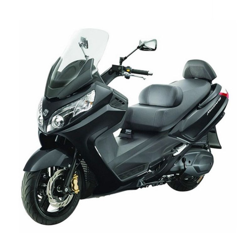 SYM Maxsym 400i Black Sepeda Motor [DP 60.000.000] (Jakarta, Depok, Tangerang, Bekasi) (Black)