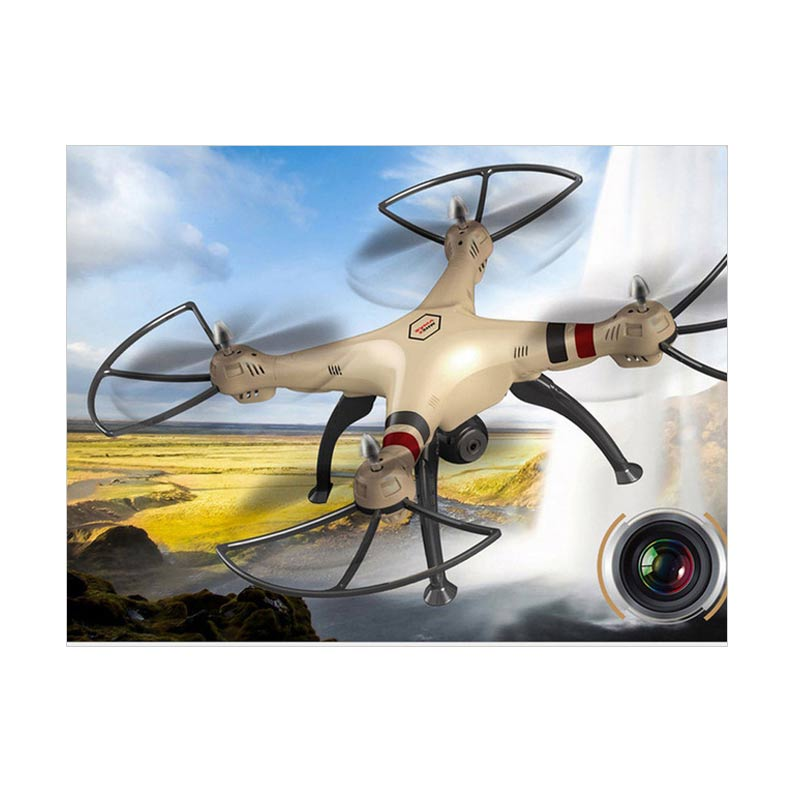 Jual Syma X8HW with Camera Drone [Hold Wifi/Live View/2 MP] Online - Harga & Kualitas Terjamin | Blibli.com