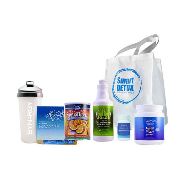Synergy Smart Detox Lite Paket Suplemen