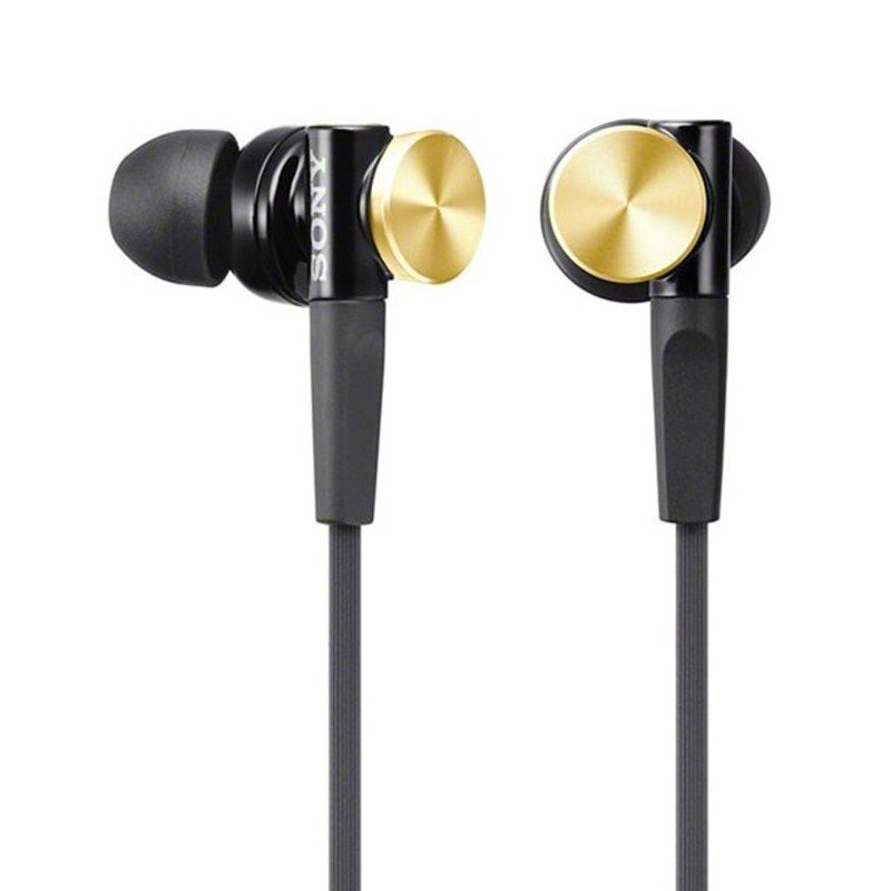 Sony MDR-XB70AP Gold Headset