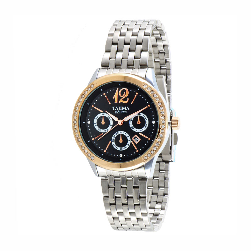 Tajima Analog Watch Date 3817 GRT-A02 Stainless Steel