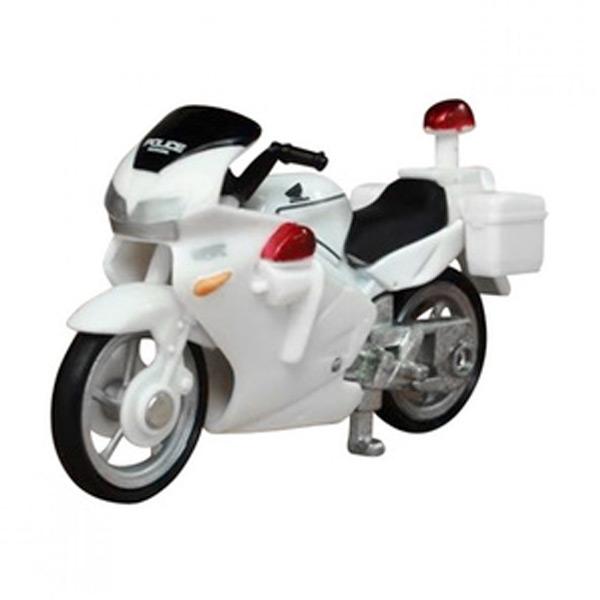 Takara Tomy no. 4 Honda VFR Police Bike Diecast