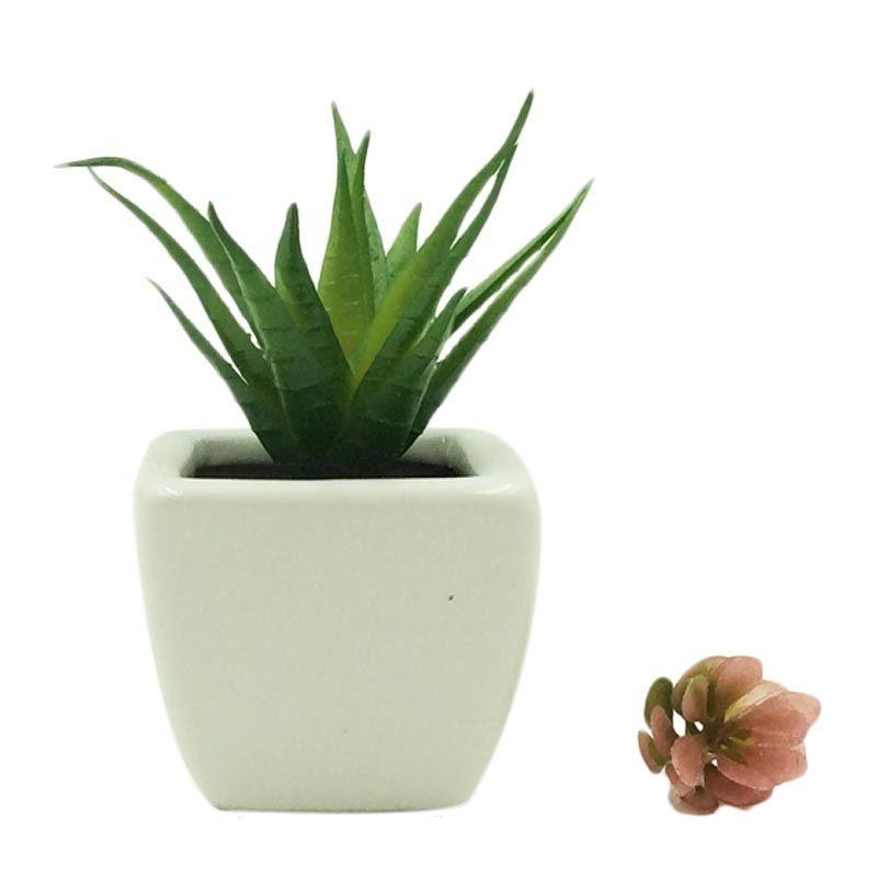 Taki Aromatalks Cactus Pot Lemon Grass Scent Pengharum Ruangan [10 mL]