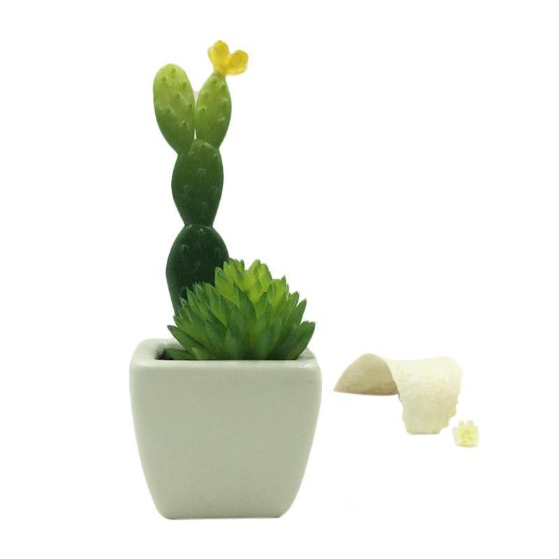 Taki Aromatalks Cactus Pot Diffuser Ginger Lime Scent Pengharum Ruangan [10 mL]