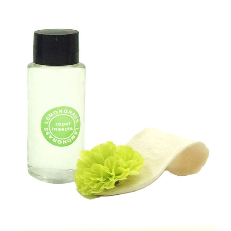 Taki Aromatalks Flower Plate Diffuser Lemon Grass Scent Pengharum Ruangan [30 mL]