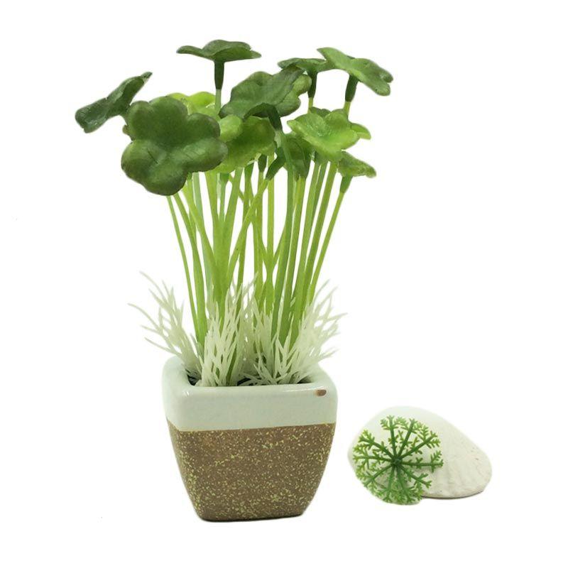 Taki Aromatalks Mini Pot Oil Clover Lily & Jasmine Aroma Diffuser Pengharum Ruangan [10 mL]