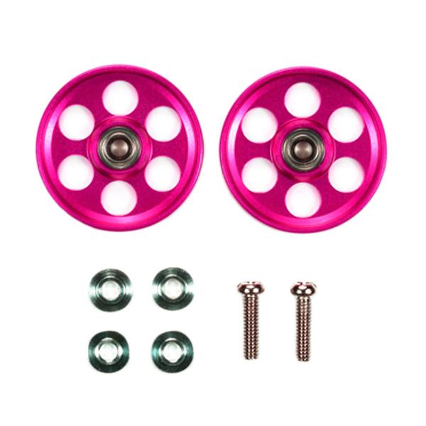 harga Tamiya HG Lightweight Aluminium Ball-Race Rollers (Ringless/Pink) [19 mm] Blibli.com
