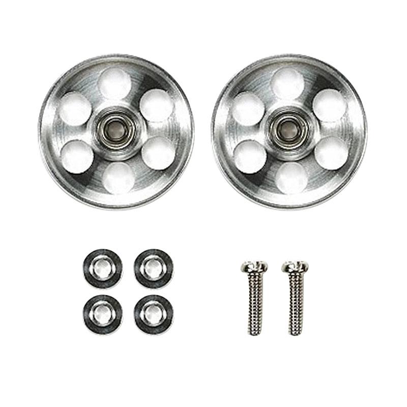 harga Tamiya HG Lightweight Aluminium Ball Race Rollers Ringless [19 mm] Blibli.com