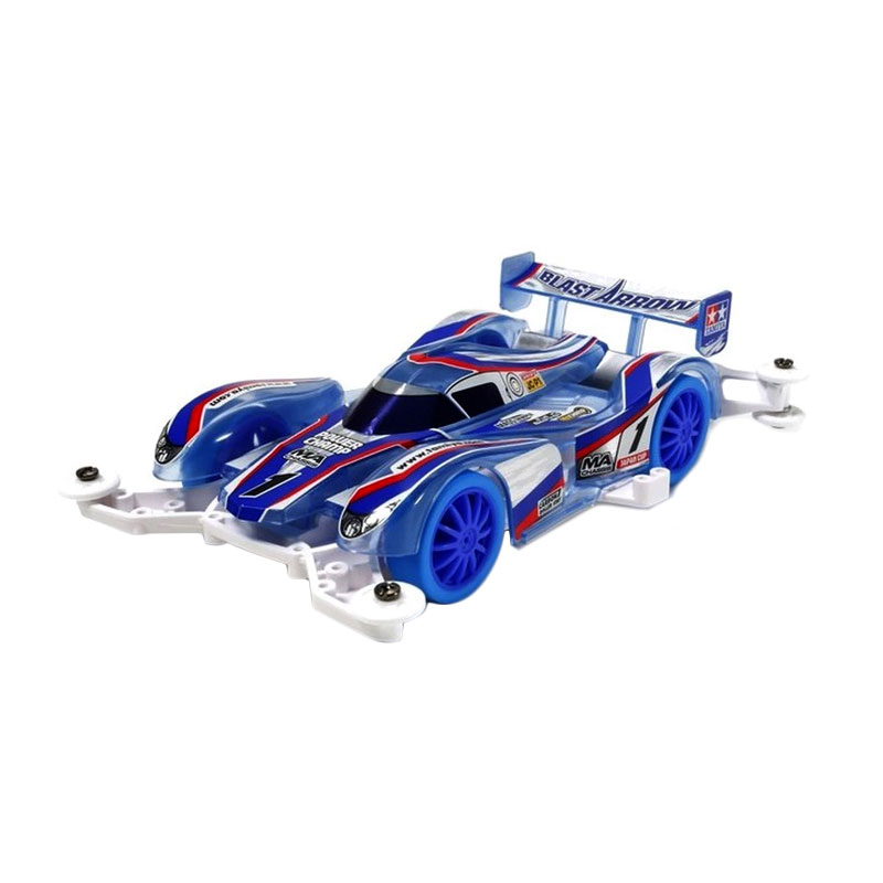 harga Tamiya Mini 4WD Blast Arrow Clear Blue Special (MA Chassis) Model Kit [1:32] Blibli.com